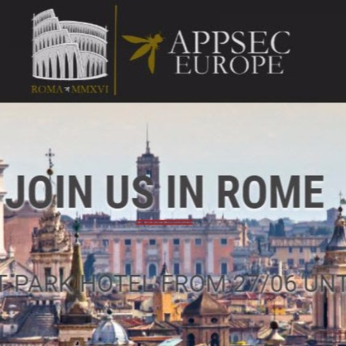 AppSec Europe 2016  - What To Expect