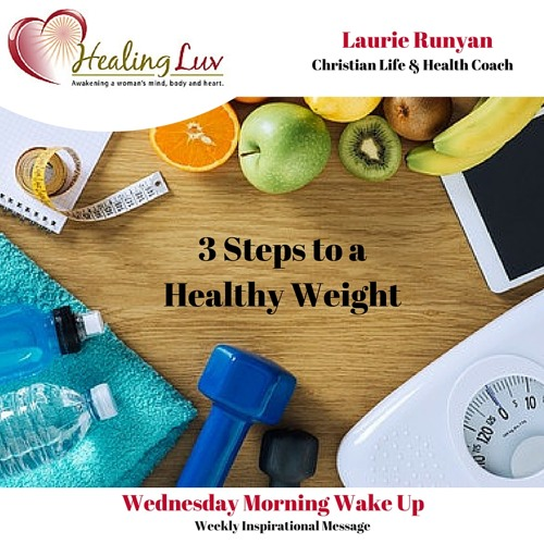 Audio 44 - 3 Steps to a Healthy Weight