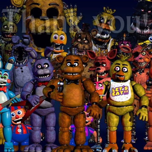 Five Nights At Freddy's Mega Mashup - 40+ Fanmade FNaF Songs