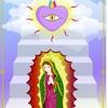 Recibiendo el amor de la Virgen de Guadalupe