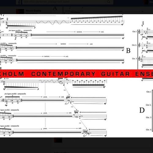 Stockholm Contemporary Guitar Ensemble (S.C.G.E)  Windows