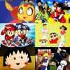 Nostalgia OST Anime Indonesia 90an : Honey Bee Hutch, Dragon Ball, Lets n Go! , Crayon Shinchan, Chibi Maruko Chan, & Hunter X Hunter (Cover)
