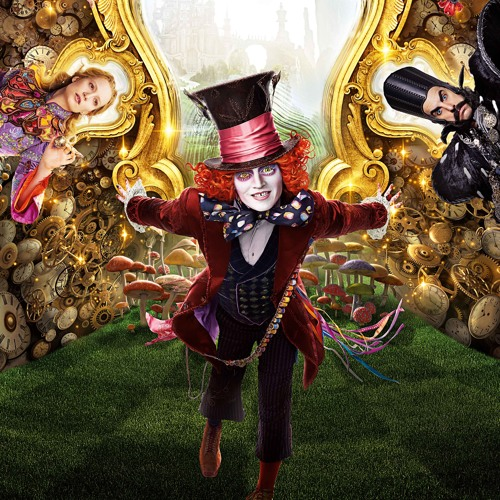 the Alice Through the Looking Glass (English) in hindi