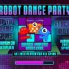 Robot dance party - Win sound fx