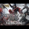 CIVIL WAR RAP - #TeamCap Vs #TeamIronMan - Keyblade