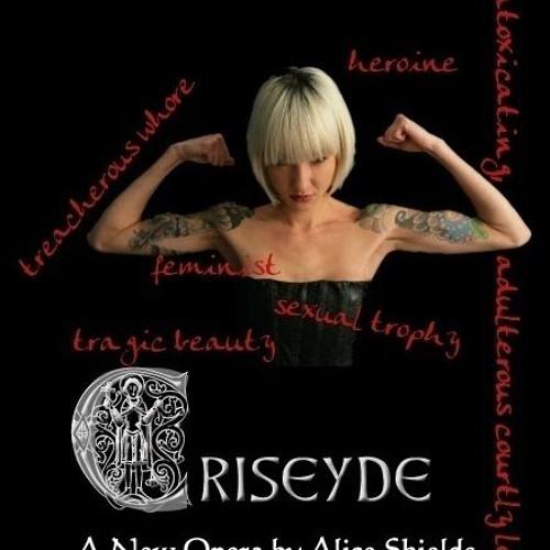 The opera Criseyde: Guilt Scene (2010)