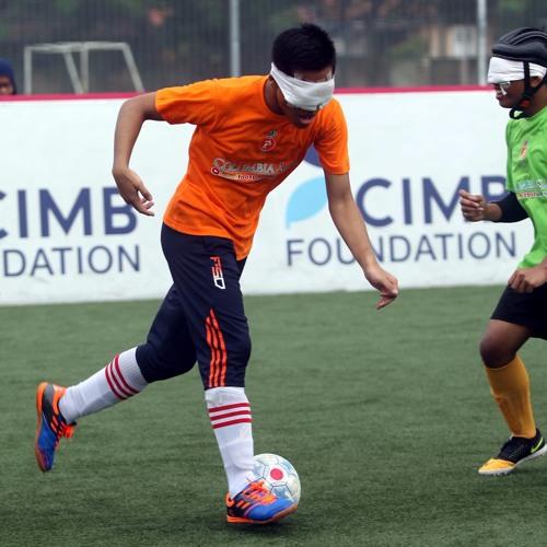 Ears on the ball: The story of Malaysia's blind football team