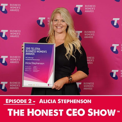 Alicia Stephenson, talking how to succeed, winning Young Business Woman of the Year and disruption.