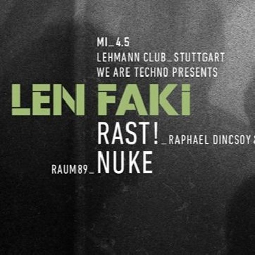 Len Stuttgart nuke lehmann stuttgart may 4th 2016 by cubbo free listening