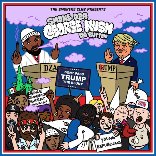 """Smoke DZA - """"Don't Pass Trump The Blunt"""" (Prod. by 183rd)"""