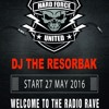 Dj The Resorbak (27/05/2016) Hard Force United RADIO Set Hardcore Uptempo