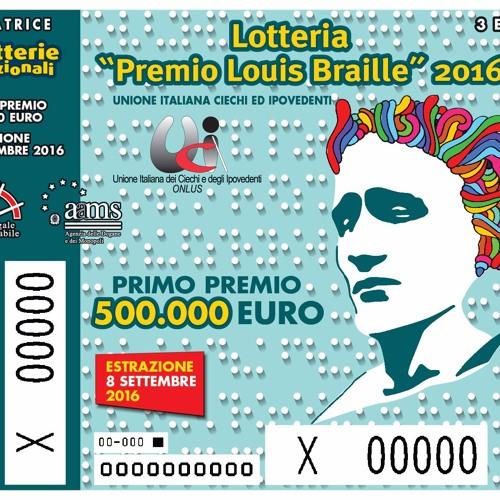 Spot audio Lotteria Nazionale Premio Louis Braille 2016