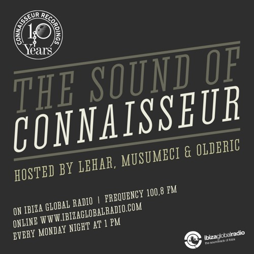 """The Sound of Connaisseur"" Radio Show #041 Musumeci & Lehar ""10y of CNS Special"" - May 30th, 2016"