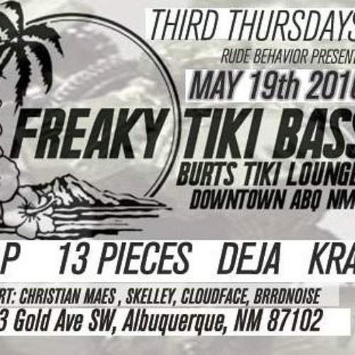 Live at Freaky Tiki Bass w/ J. Black on the mic.  (clip)