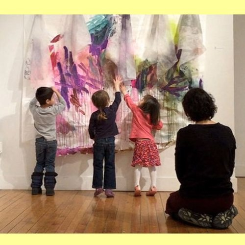 children and kids art classes don't mix! w/Marta Cabral