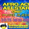 Afro Acid All Stars on Pure Radio ft Todd Fatjo - 5-28-16