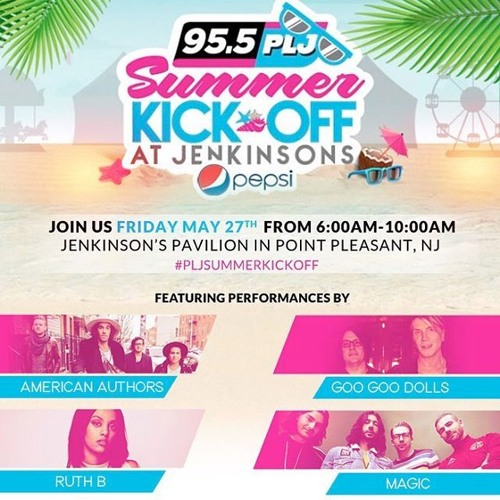95.5 PLJ Summer Kick-Off: Goo Goo Dolls