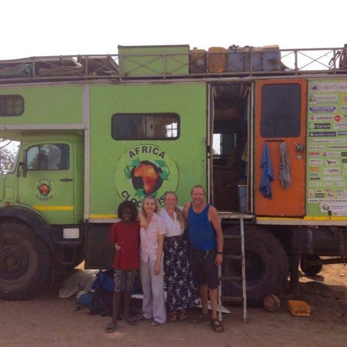 A South African family's Africa Clockwise journey in a big green truck