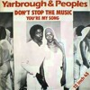 YARBROUGH & PEOPLES - Don't Stop The Music (Dj Nobody Re Edit)