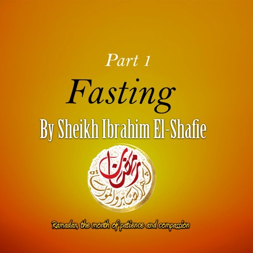 Fasting Part One