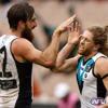 Port Adelaide v Collingwood Highlights 5/6/16