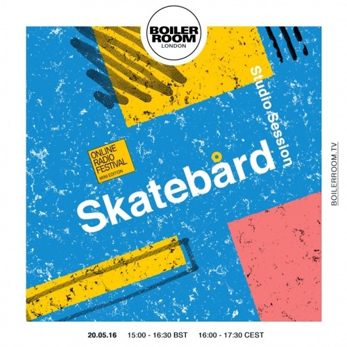 Skatebård Boiler Room London DJ Set