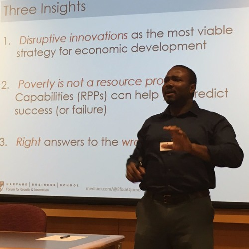 13 | The capabilities and limitations of the World Bank with Efosa Ojomo (MBA 2015)