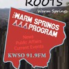 Warm Springs Program 060616 Dawm Smith & ROOTS Beginning And Location