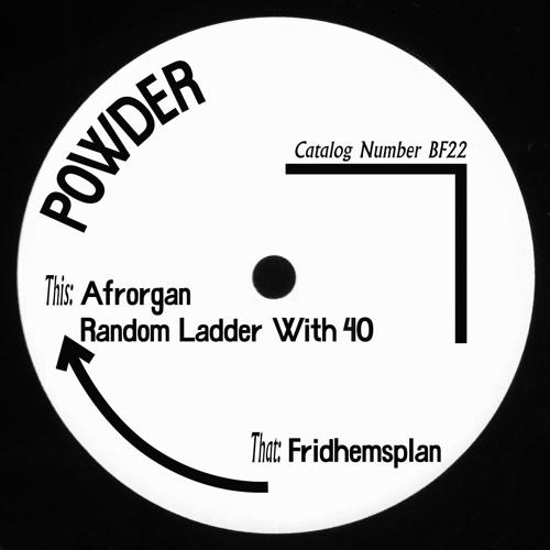 Born Free 22 - A1 - Powder - Afrorgan