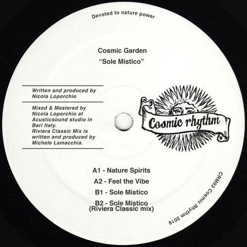 "CRM02 // Cosmic Garden - Sole Mistico 12"""