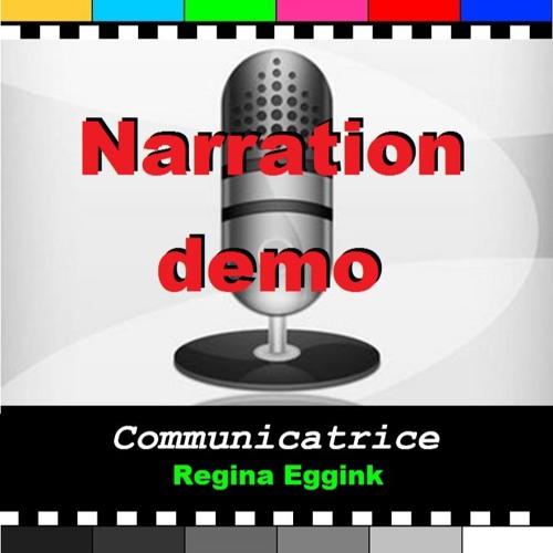 Narration demo Regina Eggink