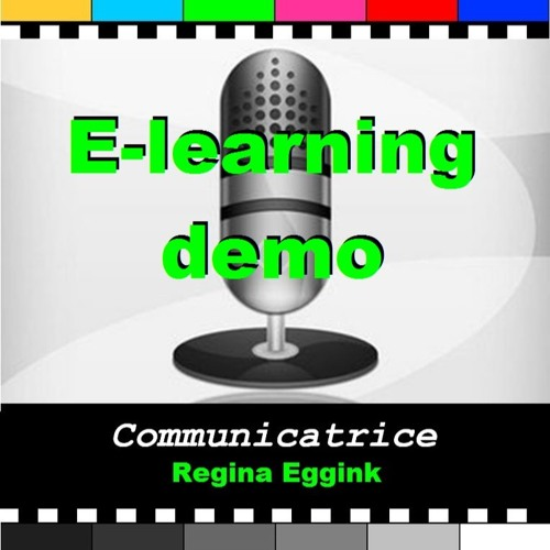 E-learning demo Regina Eggink