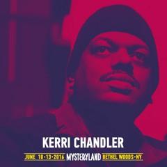 Kerri Chandler - Mysteryland USA 2016 X When We Dip