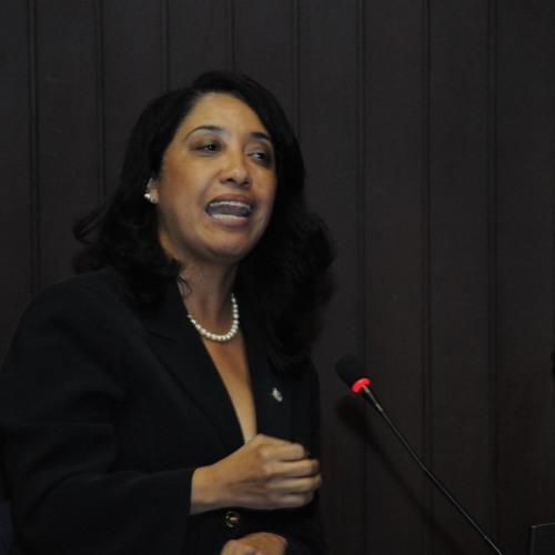 Intervención de Dip. Guadalupe Valdez sobre aprobación de Ley SANN