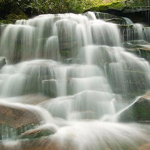 Waterfall Border by Multibird