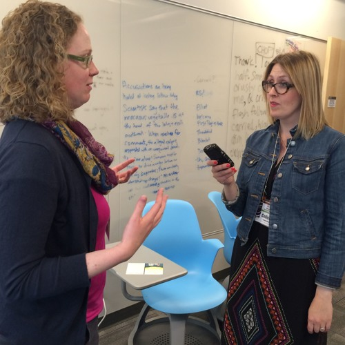 Telling stories at DHSI: Interviews with Ray Siemens, Diane Jakacki, and Alyssa Arbuckle