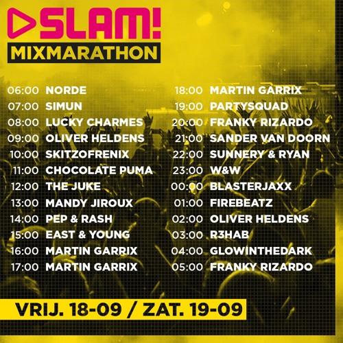 SLAM! MixMarathon Guest Mix   18-09-2015