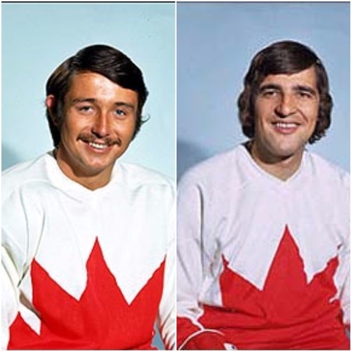 Hockey Hall of Famers Serge Savard & Brad Park