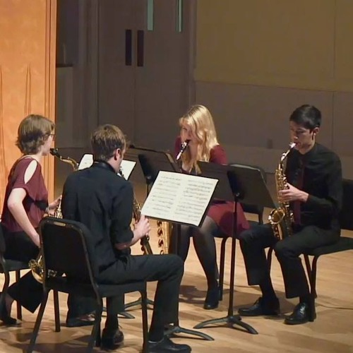 Saxophone Quartet No. 1 - Allegro (2016)