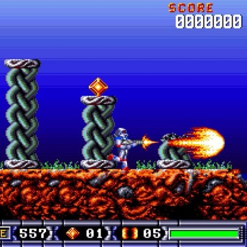 Turrican 2 (Amiga) - The Wall with OmegaGMGS2 soundfont v3 1 by Rick