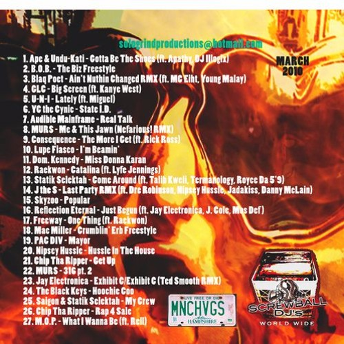 Fear & Loathing in ManchVegas Vol. 7...The Hip-Hop Edition
