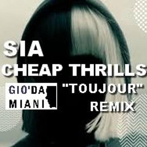 """Sia- Cheap Thrills ::  Gio' Damiani """"Toujour"""" REMIX"""