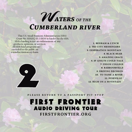 First Frontier Audio Tour - 2 - Waters of the Cumberland River