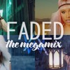 Faded - Ed Sheeran - Katy Perry - Nicki Minaj - Justin Bieber - Sia (The Megamix) T10MO Portada del disco