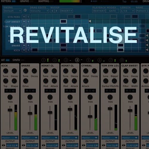 FXpansion Tremor 'Revitalise' sound bank by Electric Himalaya