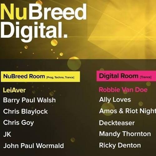 Nubreed Digital Set Re-Recording
