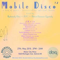 JKriv @ Mobile Disco - MotorCity Wine, Detroit - 05/27/16
