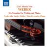 Weber: Six Violin Sonatas, Op. 10 - Sonata No. 2 in G Major, Op. 10 No. 2 J. 100
