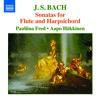 Bach: Sonatas for Flute & Harpsichord - Flute Sonata in C Major, BWV 1033