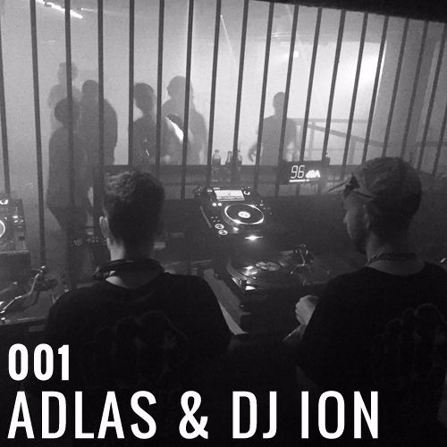 Krach Podcast Series - 001 Adlas & Dj Ion